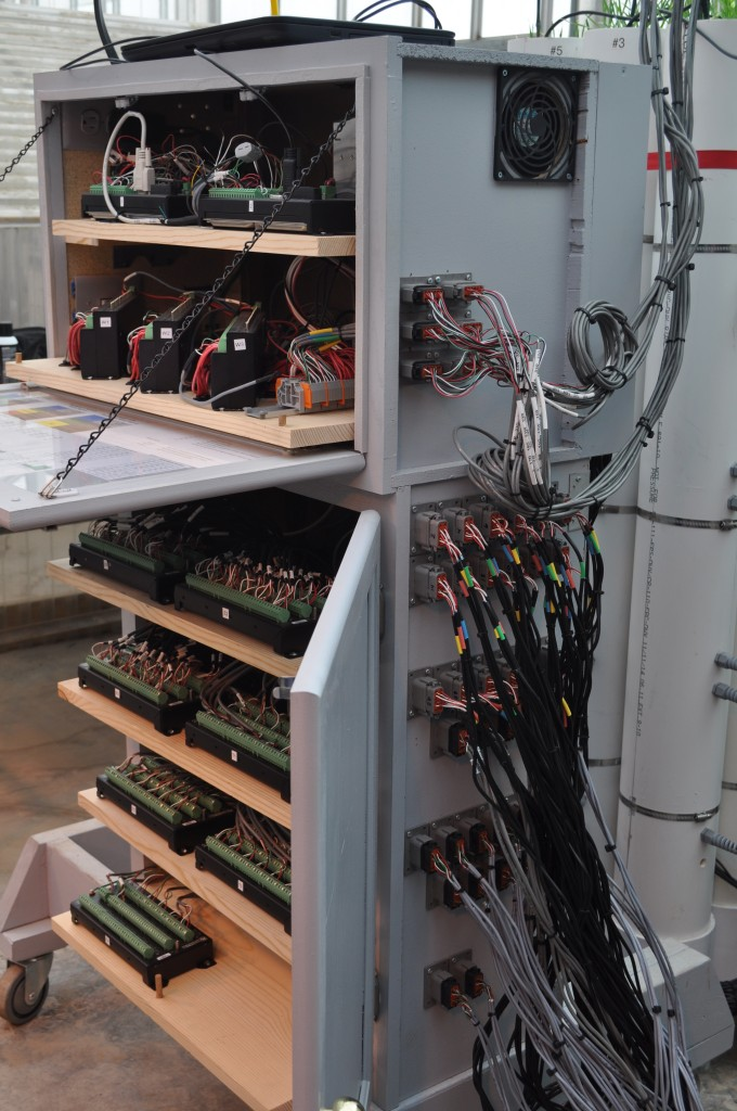 Data acquisition a cabinet setup for green's expanded experiment