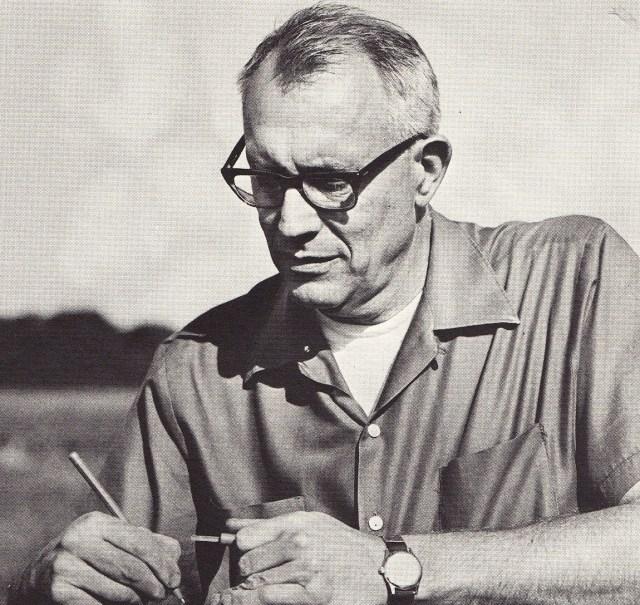 Champ Tanner (November 16, 1920 – September 22, 1990) Image: http://soils.wisc.edu/people/history/champ-tanner/