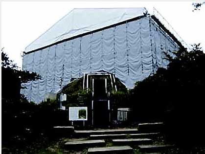 Cooling system installed at Takamatsuzuka Tomb to prevent fungal growth