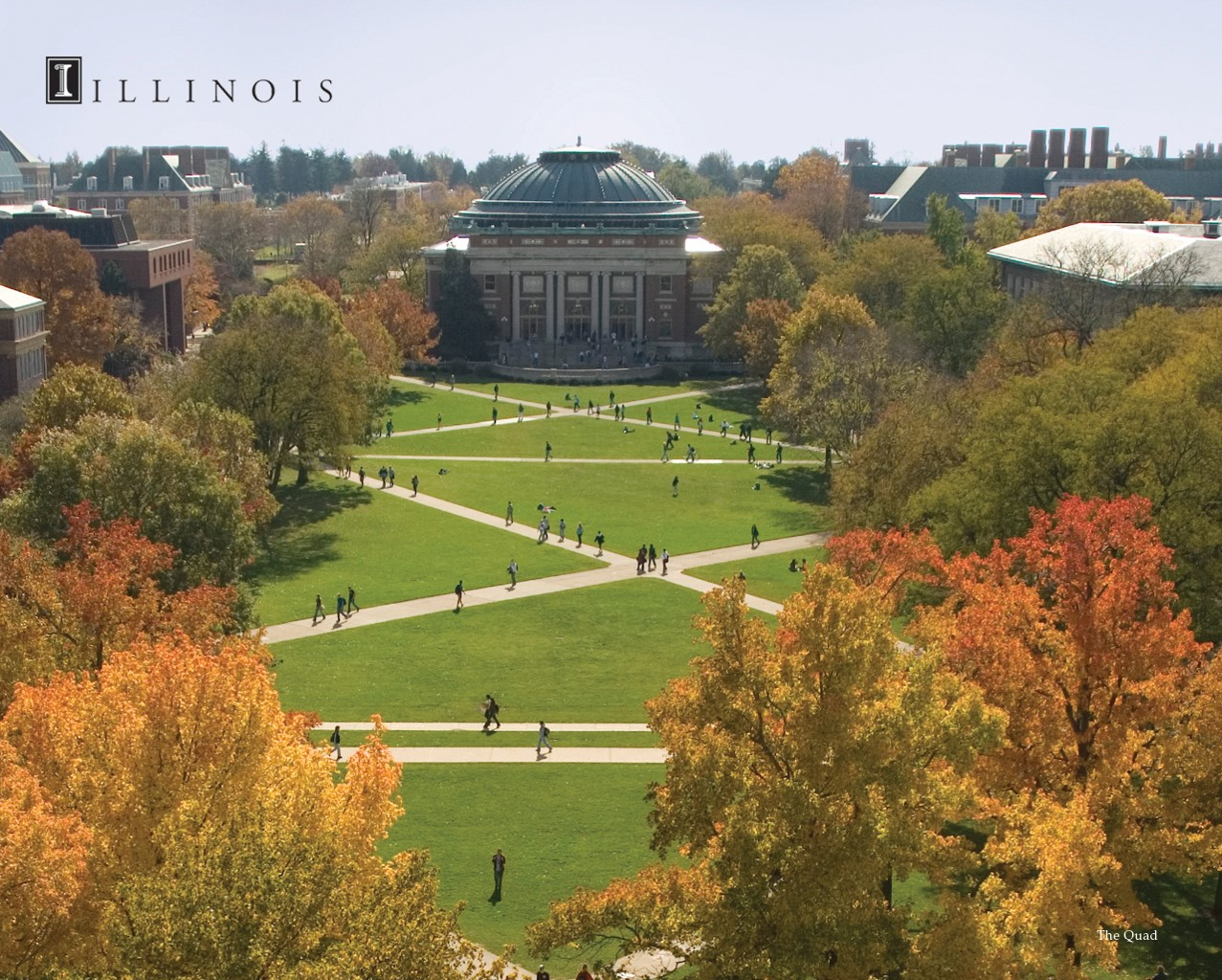 Image of the University of Illinois campus