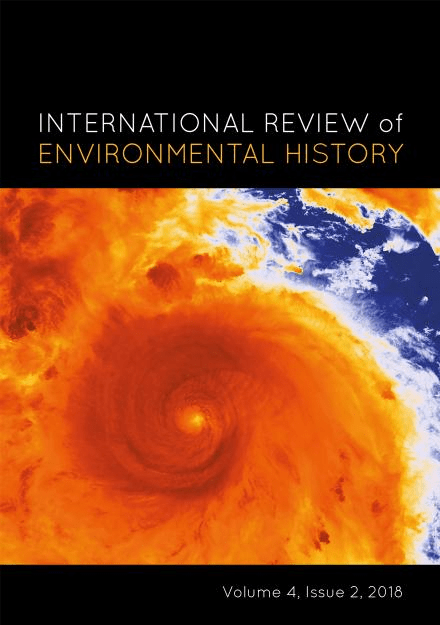 New issue of International Review of Environmental History