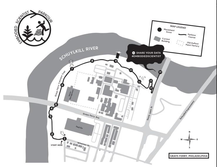 EPA Parkour Map