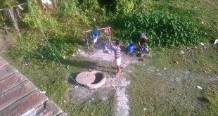 Villagers of kombonia struggling for drinking water