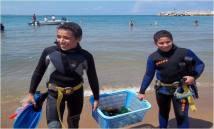 Nettoyage des fonds marins (4)