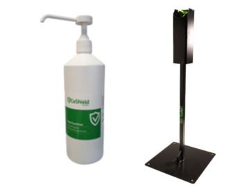 Sanitiser Refills and Dispenser