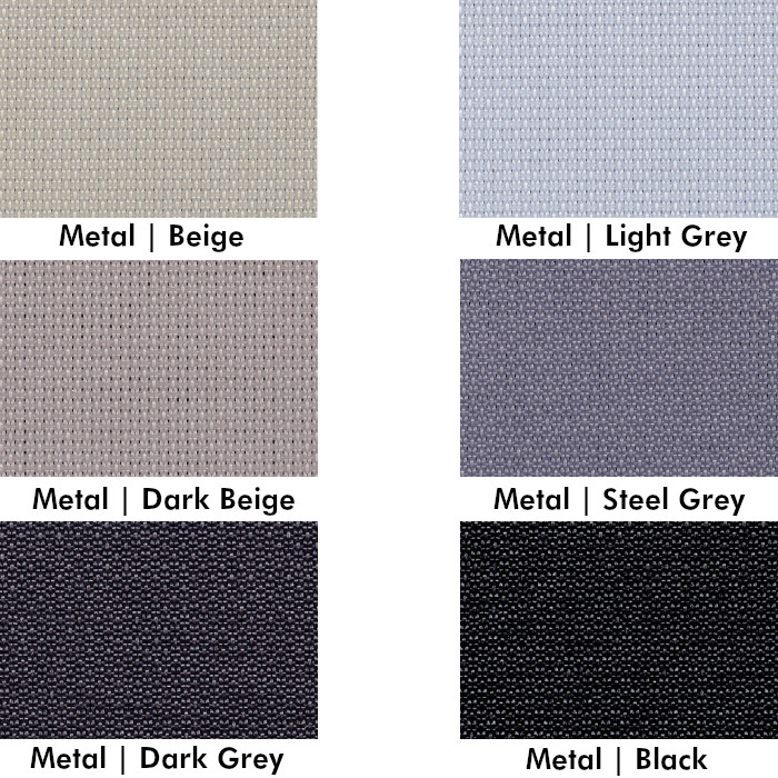 Enviroscreen metal fabrics