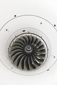 The Trent 7000's 112-in. dia. fan provides double the bypass ratio of the Trent 700 on the current A330. Credit: Mark Wagner / aviation-images.com