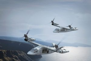 Rotorcraft are poised to fly faster and farther, potentially led by designs such as Bell's 280-kt. V-280 tilt rotor. Credit: Bell Helicopter