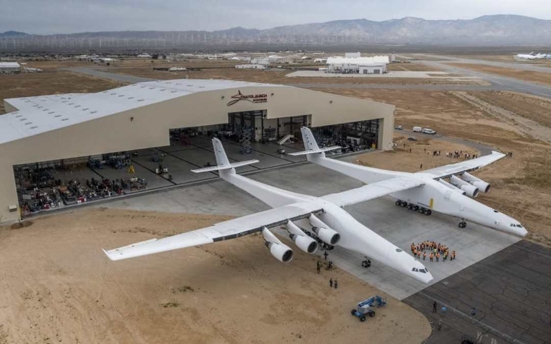 Stratolaunch, the world's largest plane
