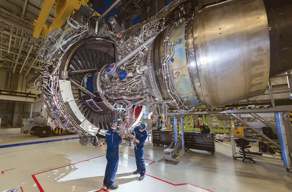 Rolls-Royce Readies For Advance3 Core Test