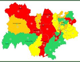 Pollution de l'air : vigilance rouge sur huit bassins d'air en Auvergne-Rhône-Alpes