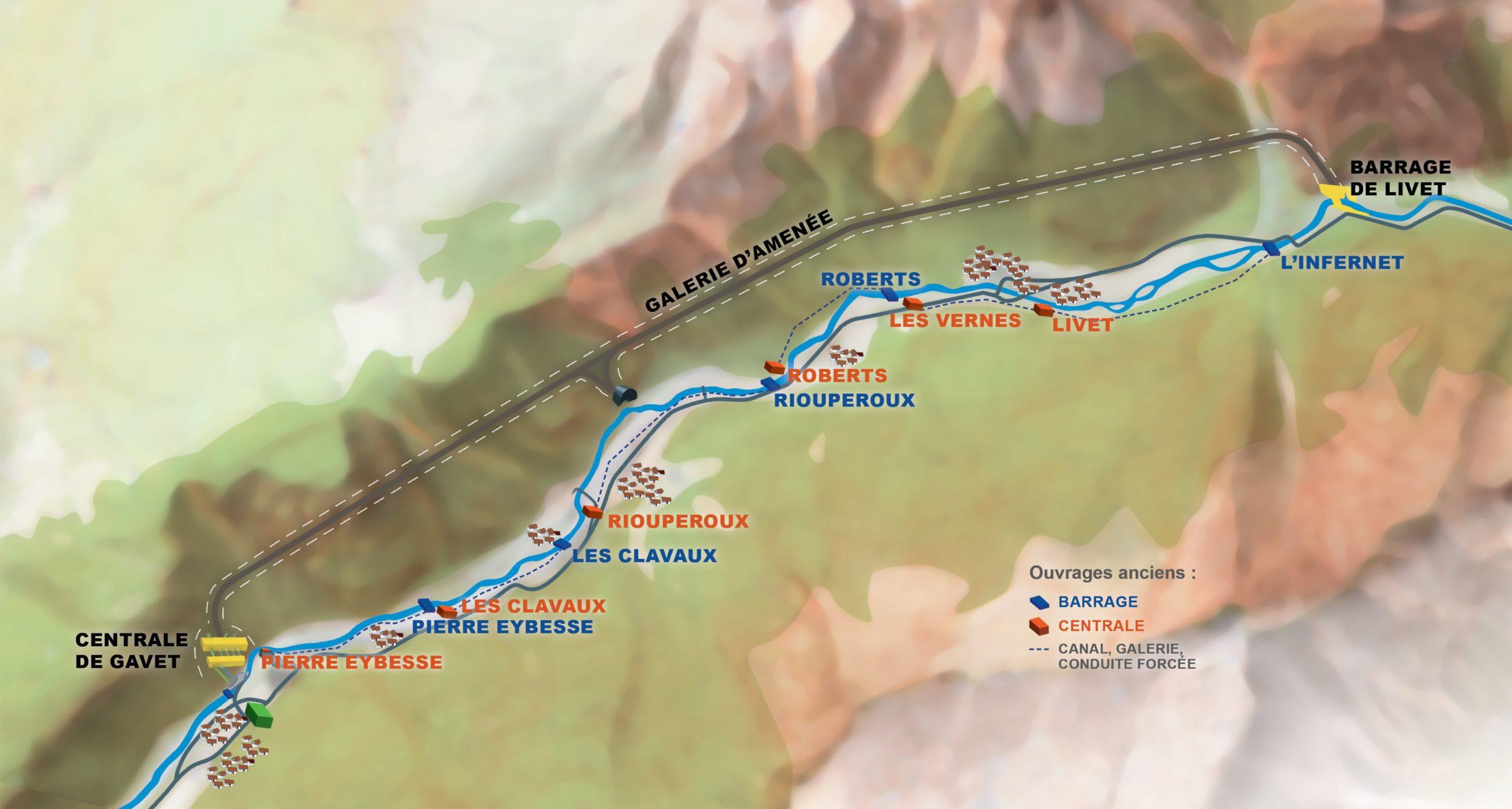 Hydroélectricité : EDF a investi 400 millions d'euros pour le nouvel aménagement de moyenne Romanche