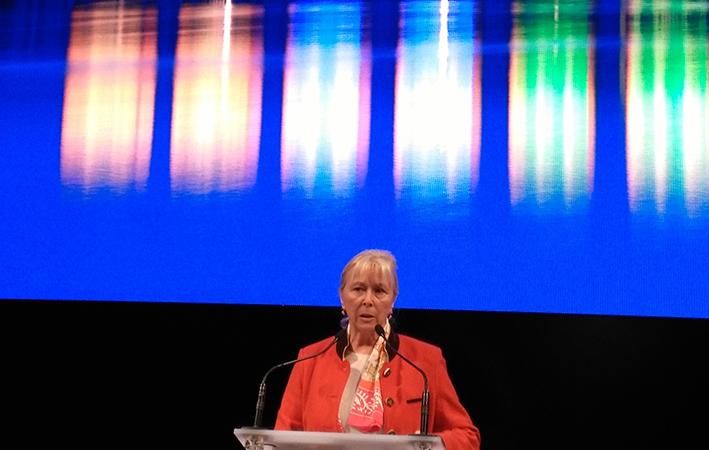 Elisabeth Ayrault : le Rhône nous dit que la Terre est fragile