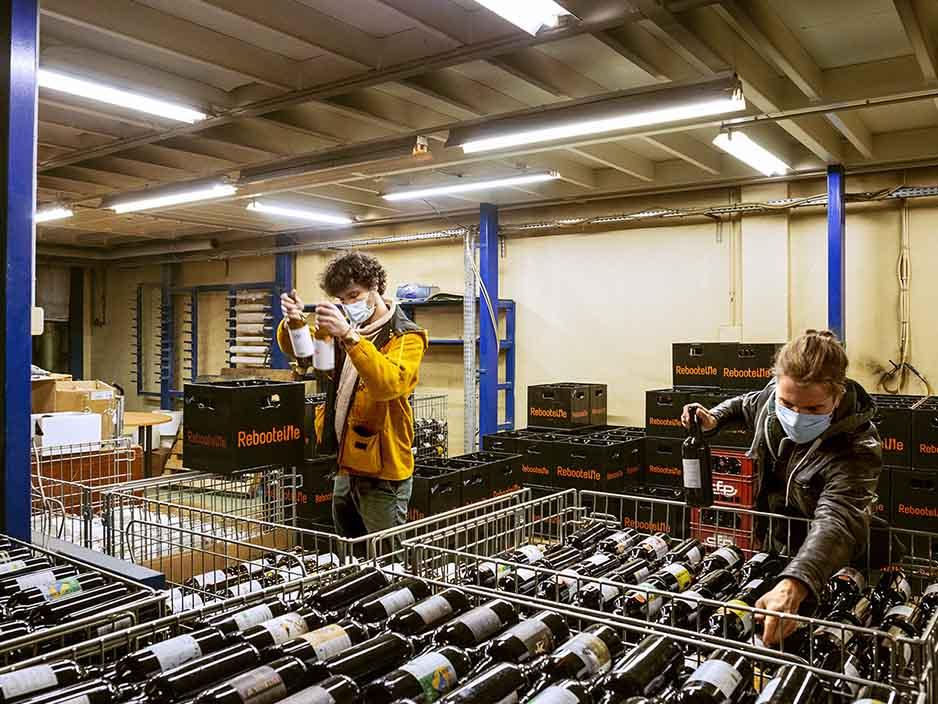 Réemploi d'emballages en verre: l'Ademe et Citeo retiennent 7 initiatives en Auvergne-Rhône-Alpes