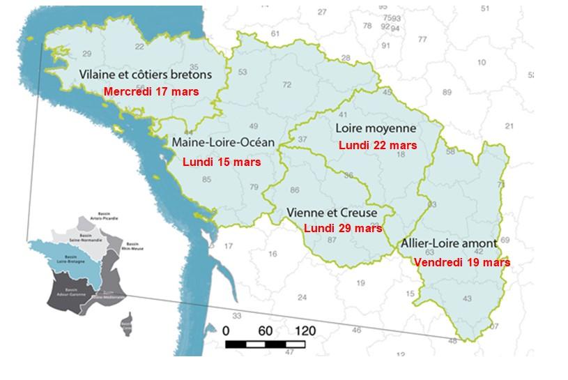 Bassin Loire-Bretagne: consultation du public sur l'eau et les inondations