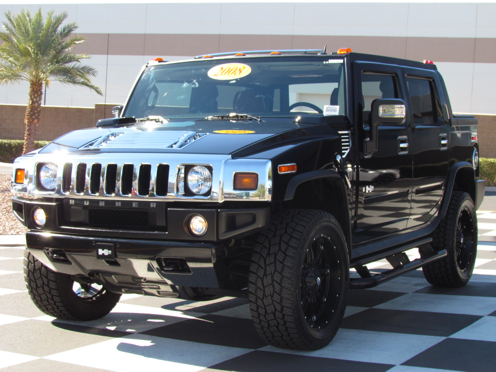 2008 H2 Hummer SUT – 22″ Wheels & Sedona Int