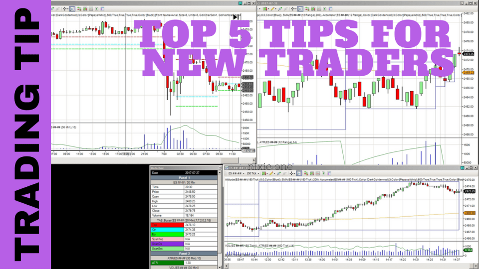 Aspiring Trader: Top 5 Tips To Get Started