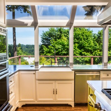 Mid century kitchen remodel in NW Portland