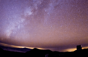 Starry skies above Maunakea