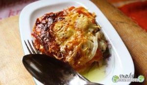 若者のための焼き野菜のラザニア