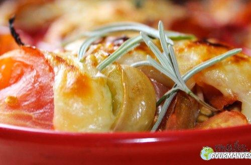 Caçarola-abóbora-tomate-lavanda-Gouda-queijo