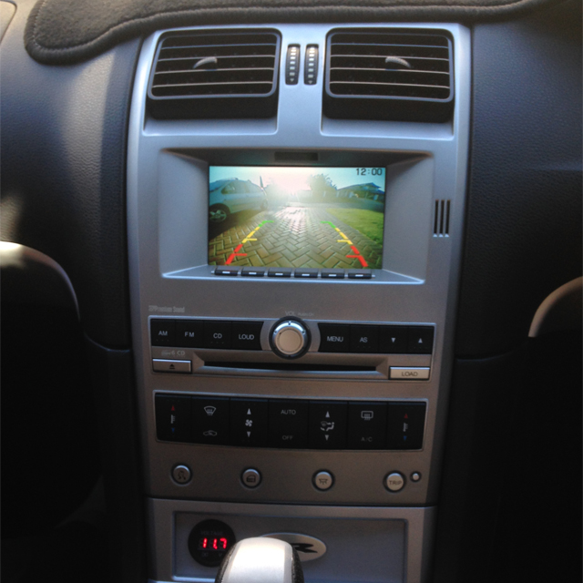 Ford BA BF Reverse Camera Kit - Envyous Customs