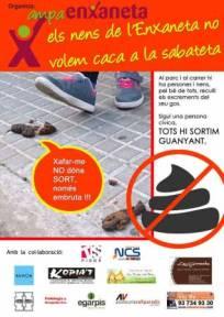 ampanya contra els excrements de gos a Terrassa