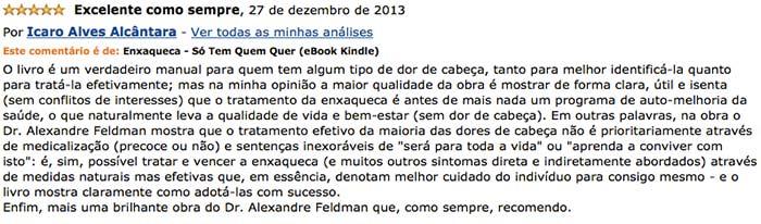 Depoimento Amazon Dr. Ícaro