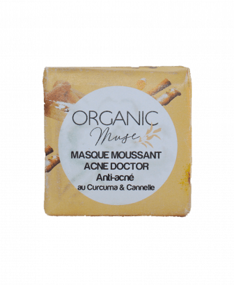 Masque moussant ACNE DOCTOR Organicmuse_Enylos