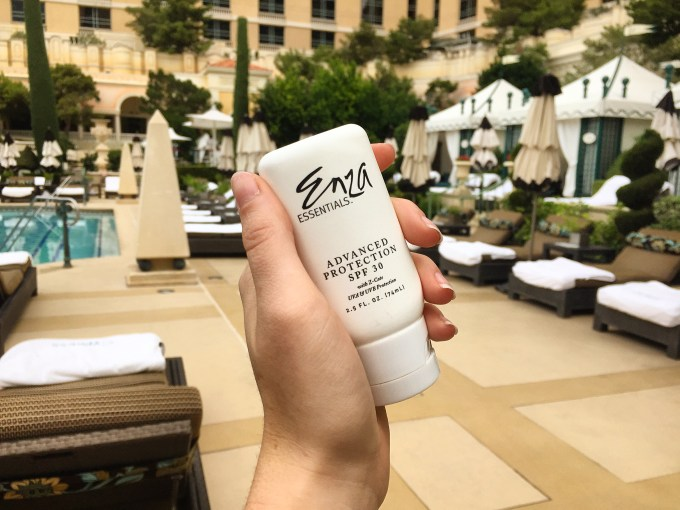 advanced protection spf shine-free enza essentials beautiful bblogger beauty blogger