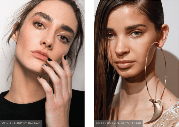 6 BEAUTY TRENDS TO STEAL FROM NYFW, skin, skincare, beauty, nyfw, new york fashion week, fashion, fblogger, bblogger, monse, nicholas k
