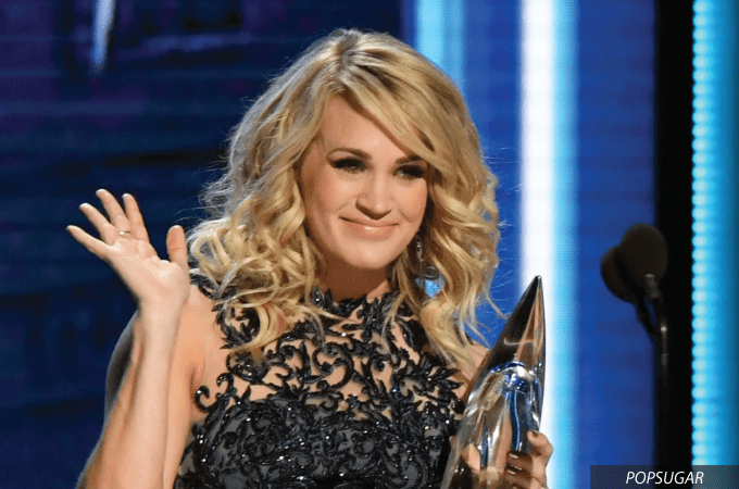 CELEBRITY SKIN ENVY: CARRIE UNDERWOOD, country, country music awards, cmas, carrie underwood, american idol, pregnancy, celebrity, celebrities, skin, skincare, beauty, makeup, enza essentials, blog, beauty blog, eau claire, wisconsin