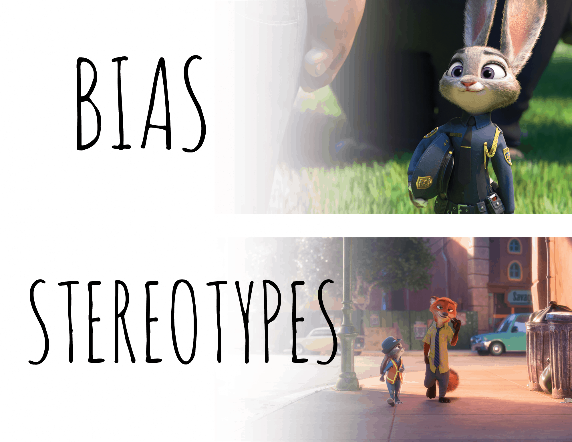 Zootopia Lesson Plan Teaching Kids About Bias Vs