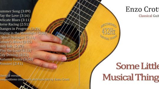 Copertina nuovo CD: Some Little Musical Things