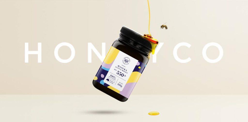 HoneyCo Packaging Hero