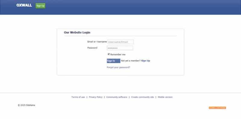 Ultimate Landing Page Login Demo