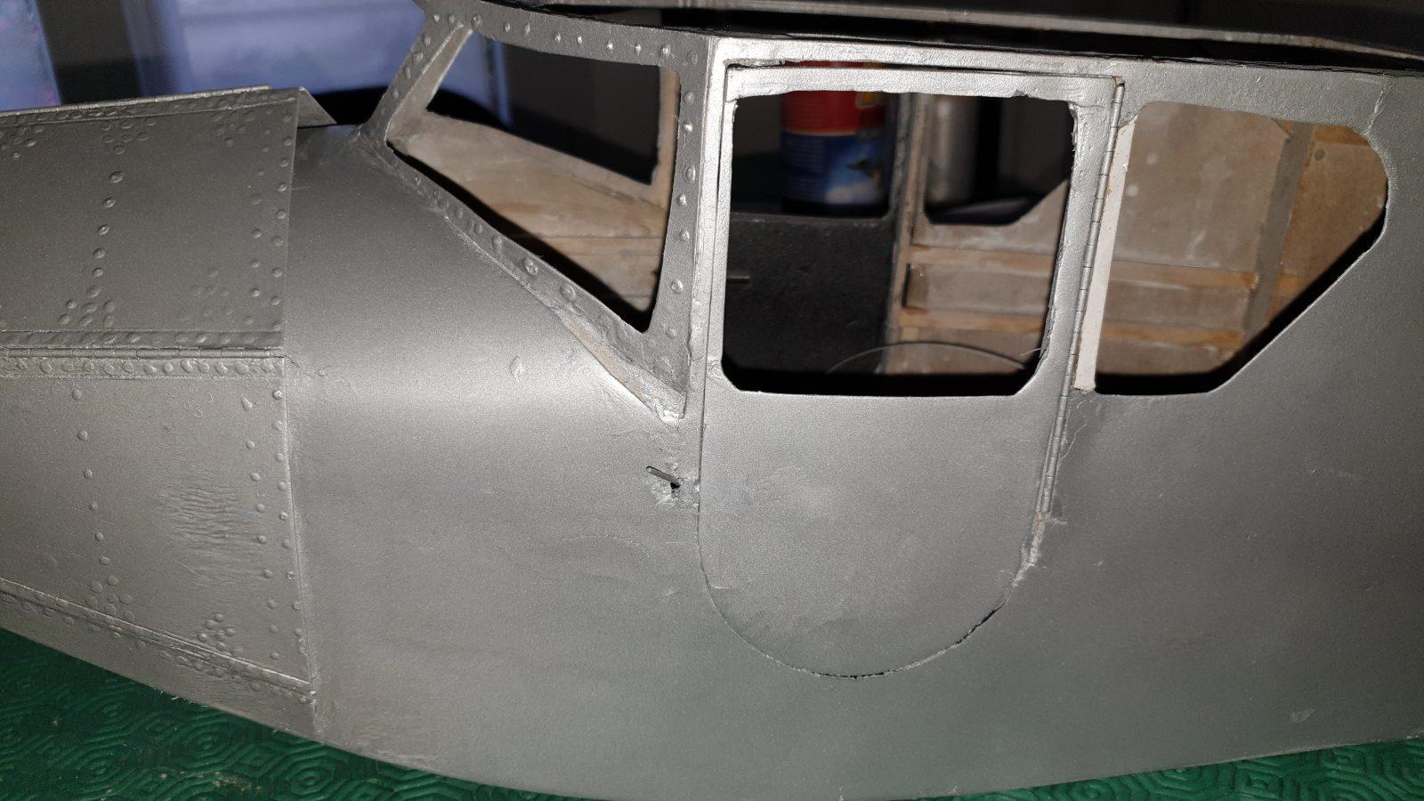 Peinture du fuselage