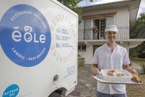 Service de livraison de repas à domicile Éole