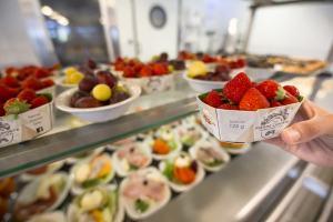 Cuisine collective bio - producteurs locaux
