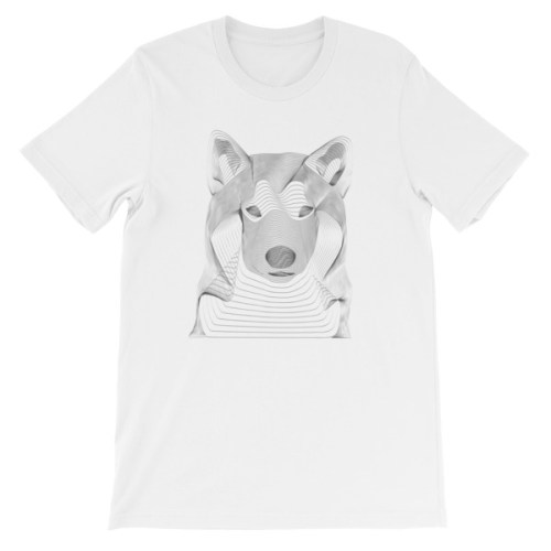 Tshirt Loup resonance - EOLE PARIS