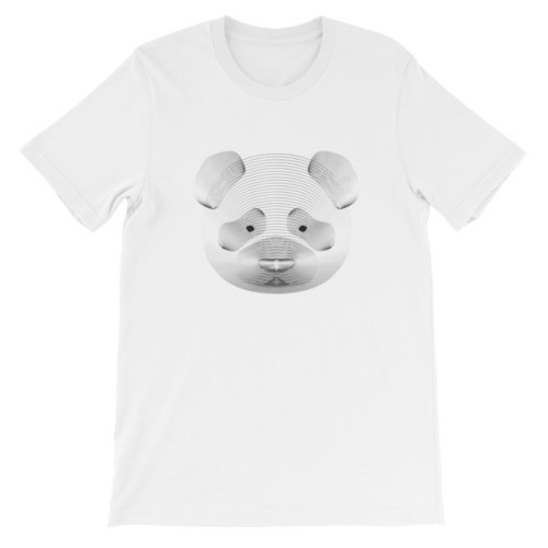 Tshirt blanc panda resonance - EOLE PARIS