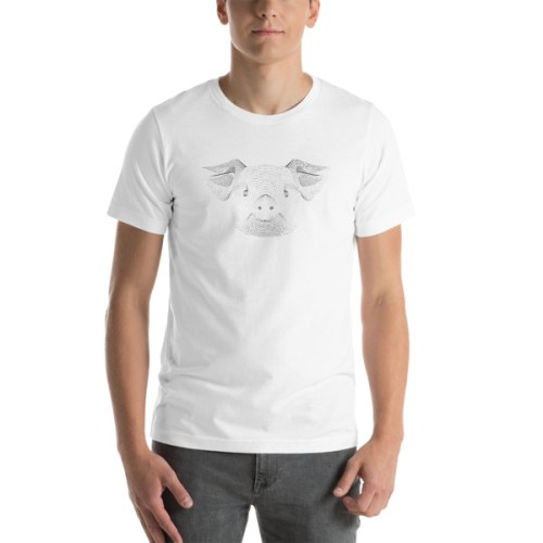 T-shirt Cochon -EOLE PARIS