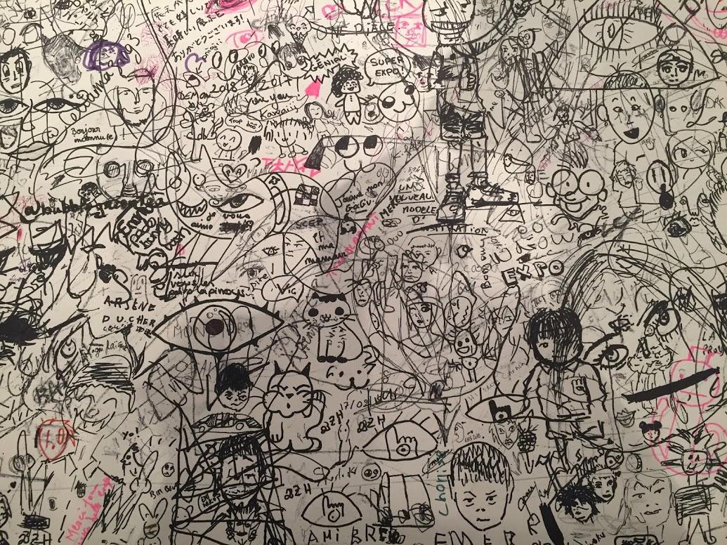 Gribouillage du public - L'art de Naoki Urasawa - ÉOLE Paris