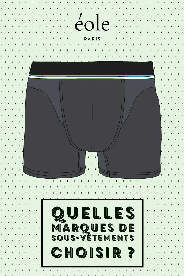 Quelles marques de sous vêtements ? EOLE PARIS