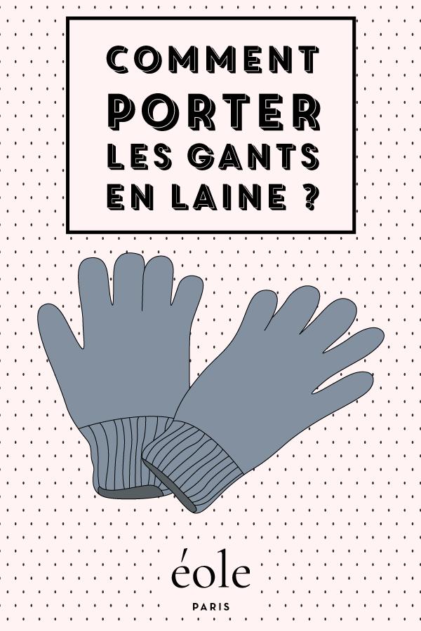 Comment porter les gants en soie ? EOLE PARIS