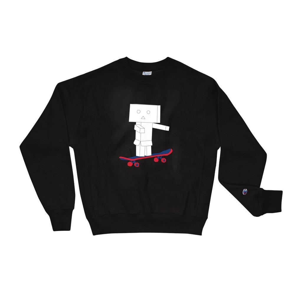 Sweatshirt Noir | Robot Skate | EOLE Paris And Champion