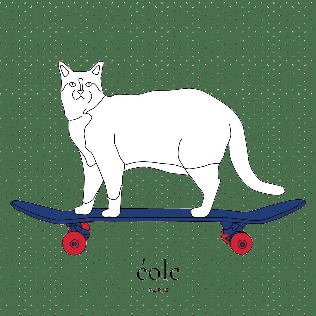 Cat Skate White