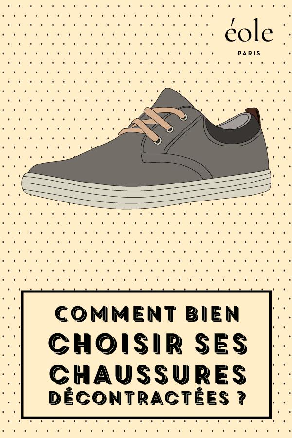 Comment bien choisir ses chaussures décontractées ? EOLE PARIS