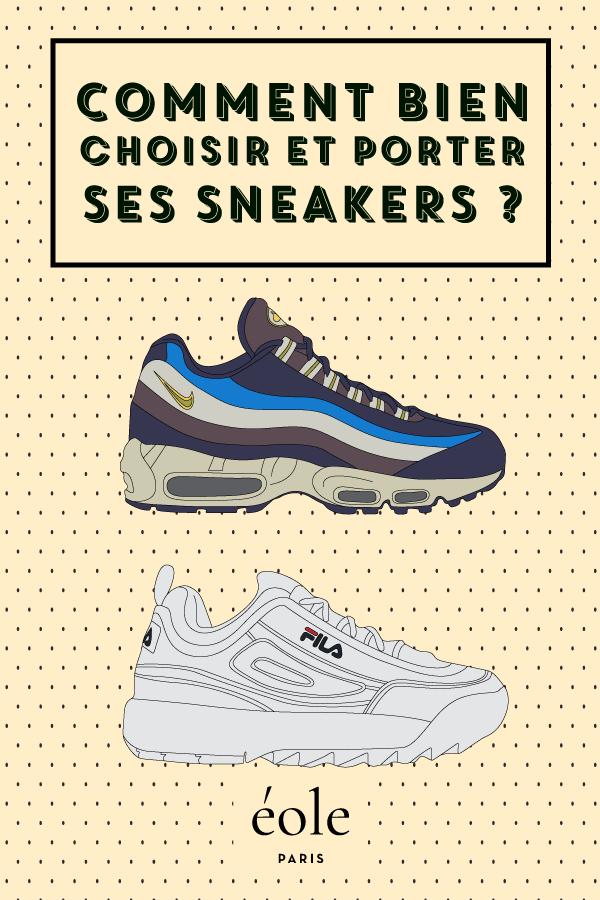 Comment bien choisir et porter vos sneakers ? EOLE PARIS