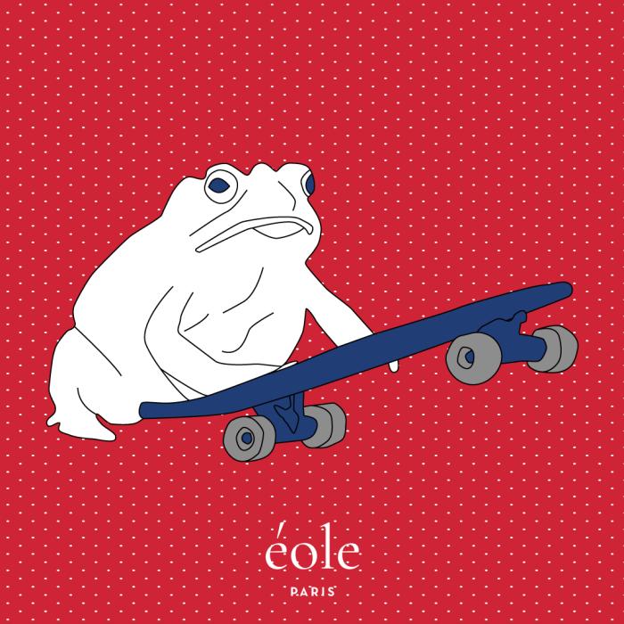 Frog Skate Red